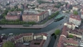 Aerial View Of Milano Italy With Darsena And Navigli District 65033259
