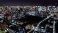 4K 東京 街 交差点 タイムラプス 交通 人々 町並み 夜景 65153027