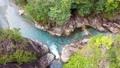 岐阜の川浦渓谷。美しい水の流れる渓谷美。 65209490