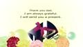 父の日メッセージ入り黄色い花はバラやカーネーションに万年筆とプレゼントボックスのイラスト 65299921