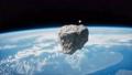 Dangerous asteroid approaching planet Earth 65358837