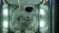 astronaut inside the orbital space station 65360912