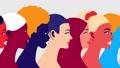 Women community and feminism movement 65407375