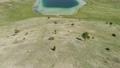 Vrazje lake in Durmitor national park, aerial view 65421350