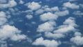 Aerial view above clouds from airplane window. 65495956