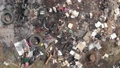 Garbage dump from above Aerial. Industrial and household waste. Large garbage pile. Dirty and stink waste in trash dump or landfill. Global damage environmental dumping concept 65559652