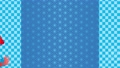 Japanese pattern light blue summer goldfish background material 65573481