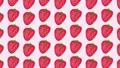 いちごのパターンの背景動画素材 65583067