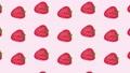 いちご柄のパターン動画素材01 65587253