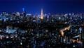 東京 港区 タイムラプス 夜景 65732560