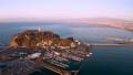 江の島と富士山空撮 65741093