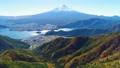 河口湖と富士山空撮 65741144