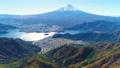 河口湖と富士山空撮 65741151