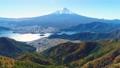 河口湖と富士山空撮 65741153