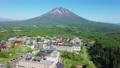 ニセコビレッジの空撮映像 / ドローン撮影 4K 66028891