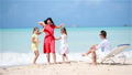Young family on vacation have a lot of fun 66160849