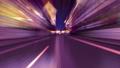 퍼플의 밤거리를 주관으로 달리는 루프 CG 애니메이션 합성 마스크 대해서 66305554