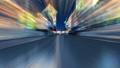 푸른 밤의 도시를 주관으로 달리는 CG 애니메이션 합성 마스크 대해서 66305577