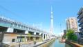 [4K収録, 音声無し]東京の都市風景 隅田区 東京ミズマチ周辺の風景[zoomin/20sec] 66327737