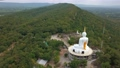 Aerial view landscape of Wat Khao Chong Chad in thailand 66485944