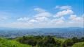 夏の若草山からの眺望 奈良 タイムラプス ティルトアップ インターバル撮影 66621752