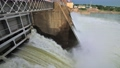 Discharge water from the dam of hydroelectric plant 66748344