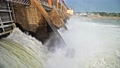 Discharge water from the dam of hydroelectric plant 66907776