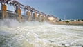 Discharge water from the dam of hydroelectric plant 66907778