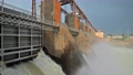 Discharge water from the dam of hydroelectric plant 66908931