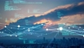 都市とテクノロジー CGアニメーション タイムラプス 66941342
