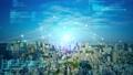 都市とテクノロジー CGアニメーション タイムラプス 66941343