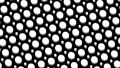 물방울 도트 패턴 루프 소재 모션 그래픽 검은 배경 66974709