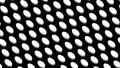물방울 도트 패턴 루프 소재 모션 그래픽 검은 배경 66974711