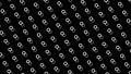 물방울 도트 패턴 루프 소재 모션 그래픽 검은 배경 66974713