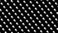 물방울 도트 패턴 루프 소재 모션 그래픽 검은 배경 66974714