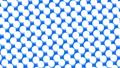 물방울 도트 패턴 루프 소재 모션 그래픽 파란색 배경 66974809