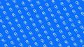 물방울 도트 패턴 루프 소재 모션 그래픽 파란색 배경 66974815