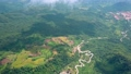 Aerial view landscape from flying drone over mountain in Phu Thap Boek Thailand 67061035