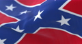 Confederate flag waving at wind, loop 67179847