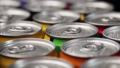 aluminum cans with carbonated water, energy drinks or beer 67431520