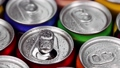 aluminum cans with carbonated water, energy drinks or beer 67431524