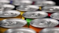 aluminum cans with carbonated water, energy drinks or beer 67529667