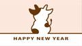 2021年丑年 牛のシルエット アニメーション 67734974