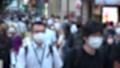 日本 東京 夏 マスクを着けた人々 群衆 雑踏 人混み (新型コロナウイルス対策) 67772542