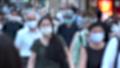 日本 東京 夏 マスクを着けた人々 群衆 雑踏 人混み (新型コロナウイルス対策) 67772547