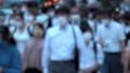 日本 東京 夏 マスクを着けた人々 群衆 雑踏 人混み (新型コロナウイルス対策) 67772549