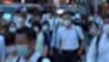 日本 東京 夏 マスクを着けた人々 群衆 雑踏 人混み (新型コロナウイルス対策) 67772557