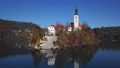 Aerial view of Lake Bled, Slovenia 67892318