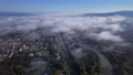 Aerial view of Piestany, Slovakia. 67907778
