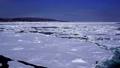 在冬季,从鄂霍次克海流冰 67915378